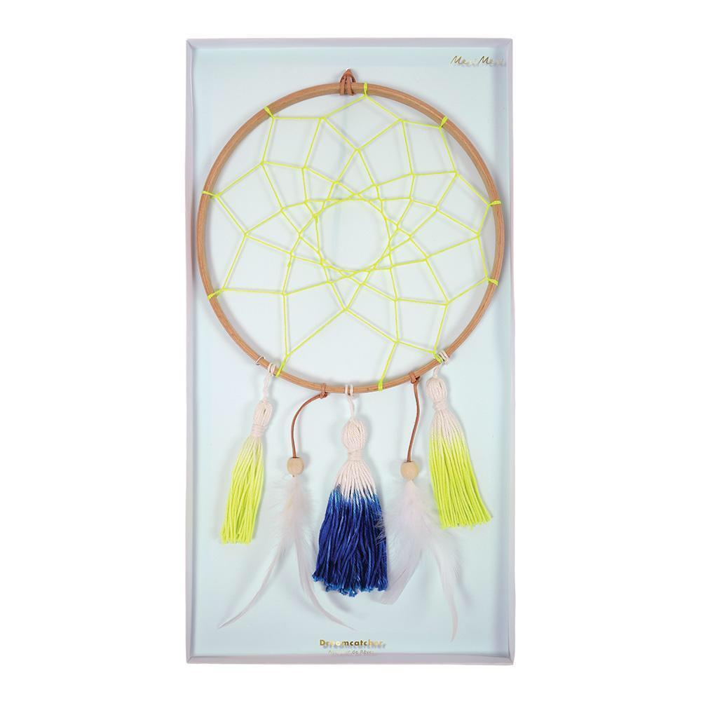 HANGING DECOR - DREAMCATCHER BLUE & YELLOW MERI MERI, HANGING DECOR, MERI MERI - Bon + Co. Party Studio