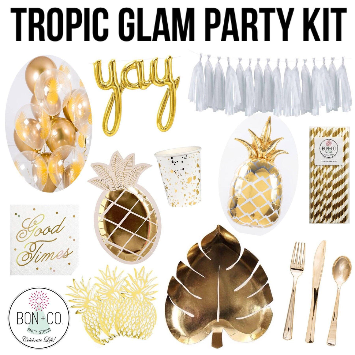 PARTY KIT - TROPIC GLAM