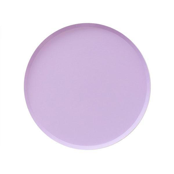 PLATES - SMALL LILAC OH HAPPY DAY, PLATES, Oh happy day - Bon + Co. Party Studio