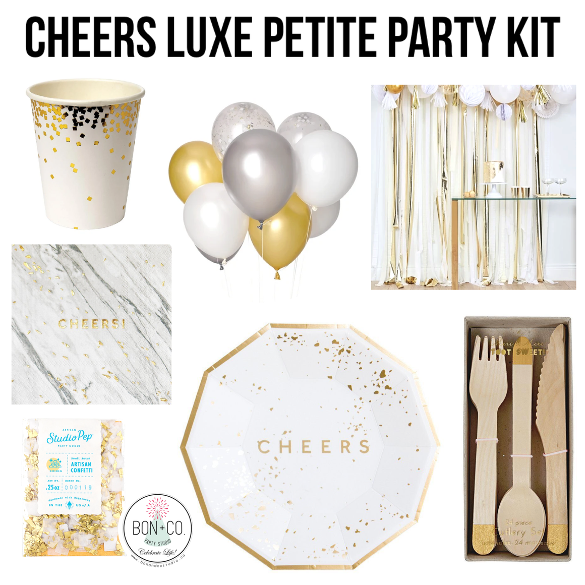 PETITE PARTY KIT LUXE - CHEERS!