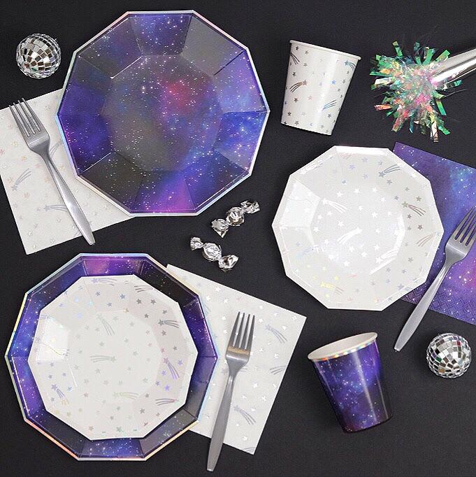 PLATES - LARGE GALACTIC