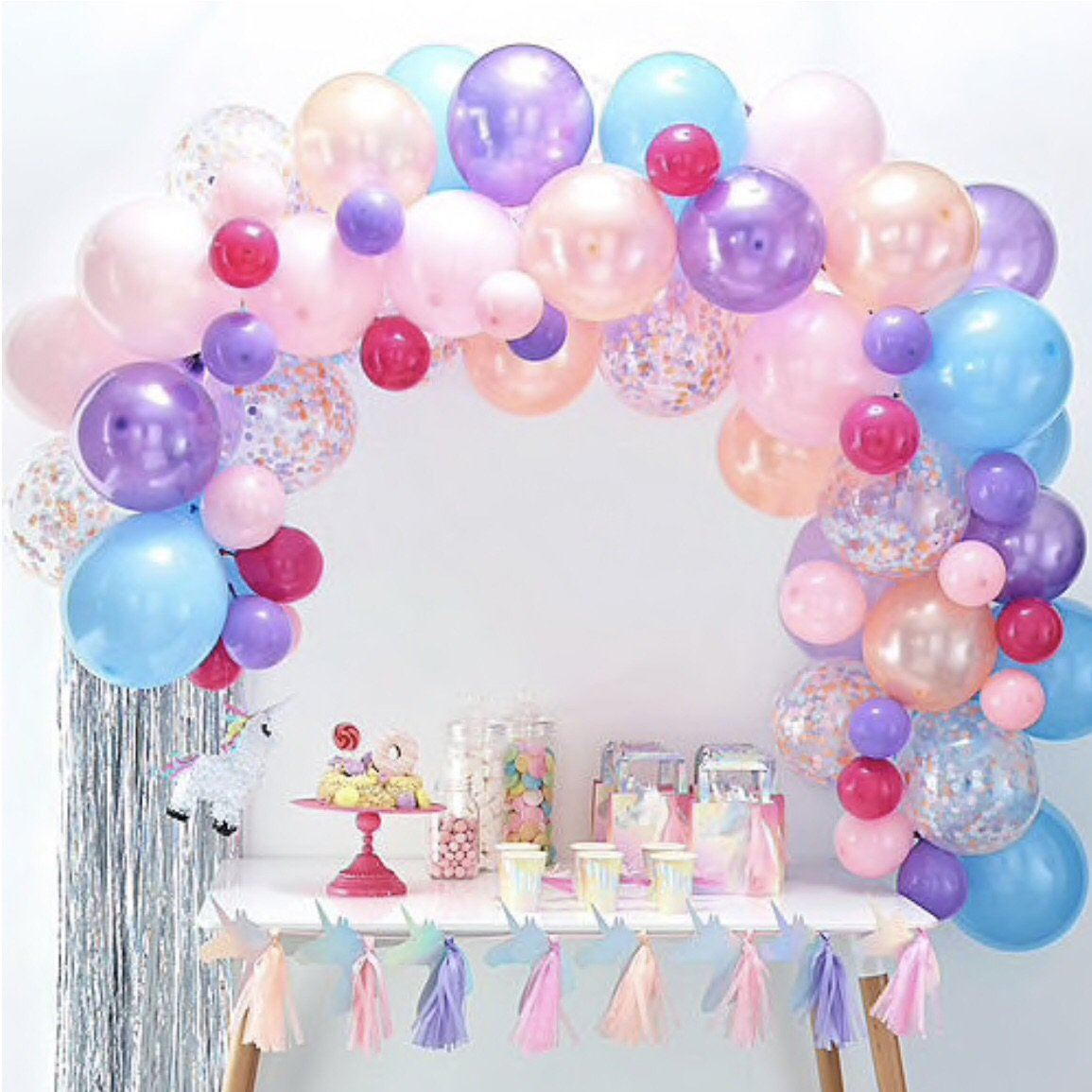 BALLOON ARCH - PASTEL GINGER RAY, Balloons, GINGER RAY - Bon + Co. Party Studio