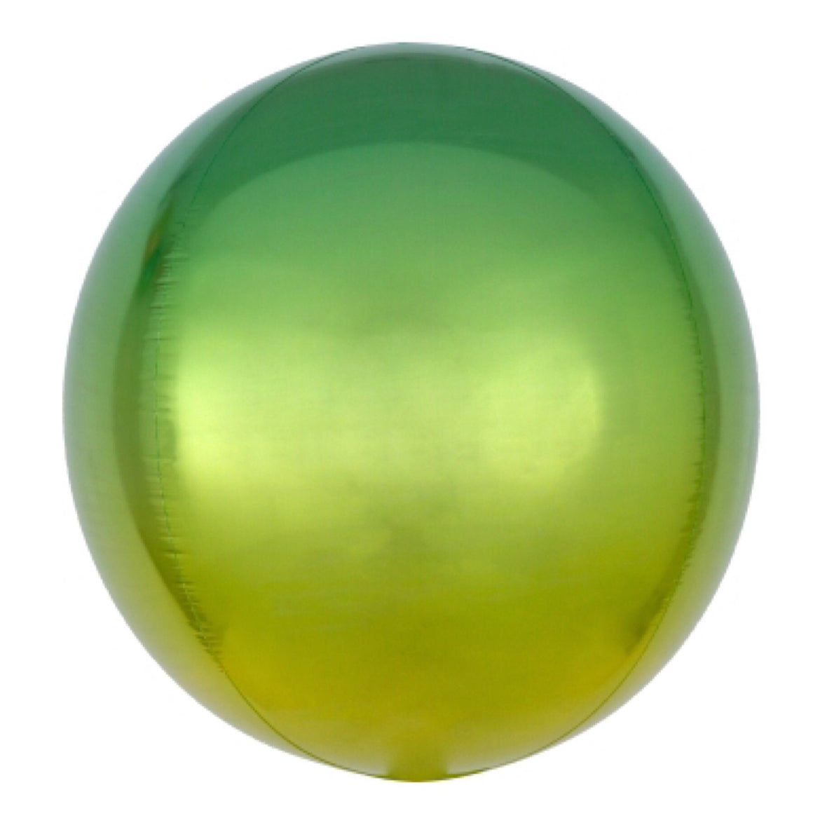 "BALLOON BAR - 16"" ORBZ ROUND OMBRE GREEN YELLOW, Balloons, Anagram - Bon + Co. Party Studio"