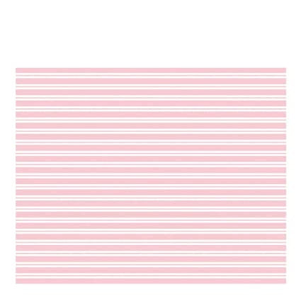 TABLECOVER - TOOT SWEET PINK STRIPE