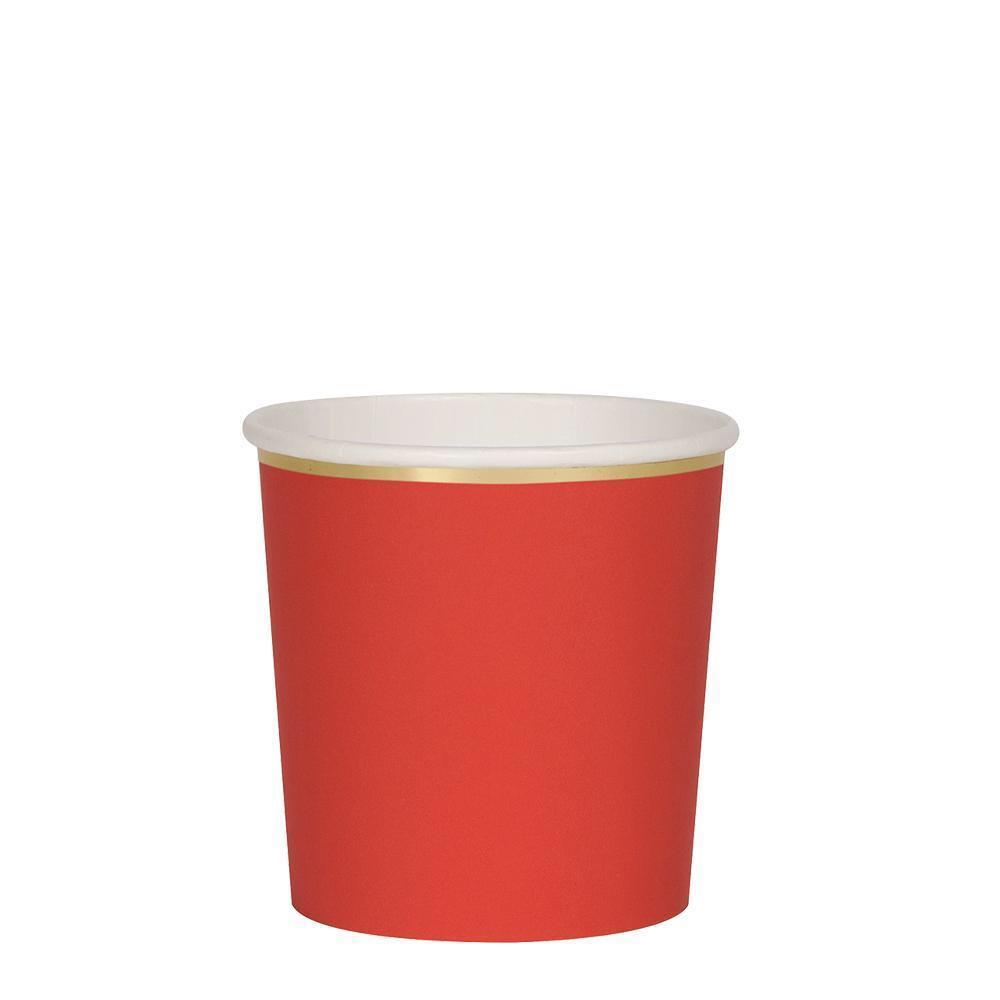 CUPS - MERI MERI TUMBLER RED