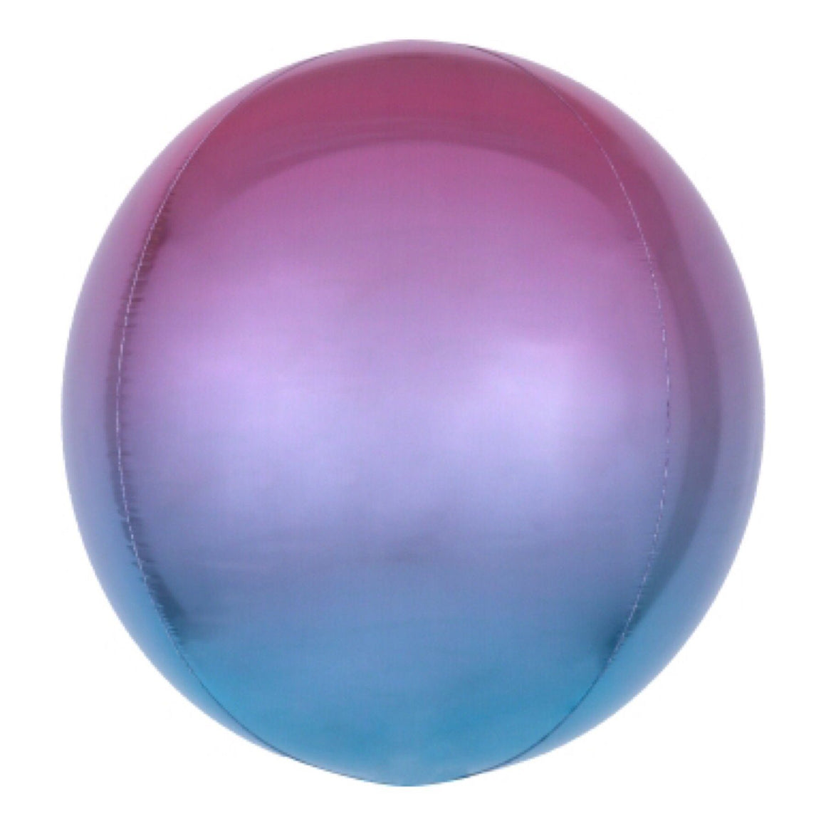 "BALLOON BAR - 16"" ORBZ ROUND OMBRE PURPLE BLUE, Balloons, Anagram - Bon + Co. Party Studio"