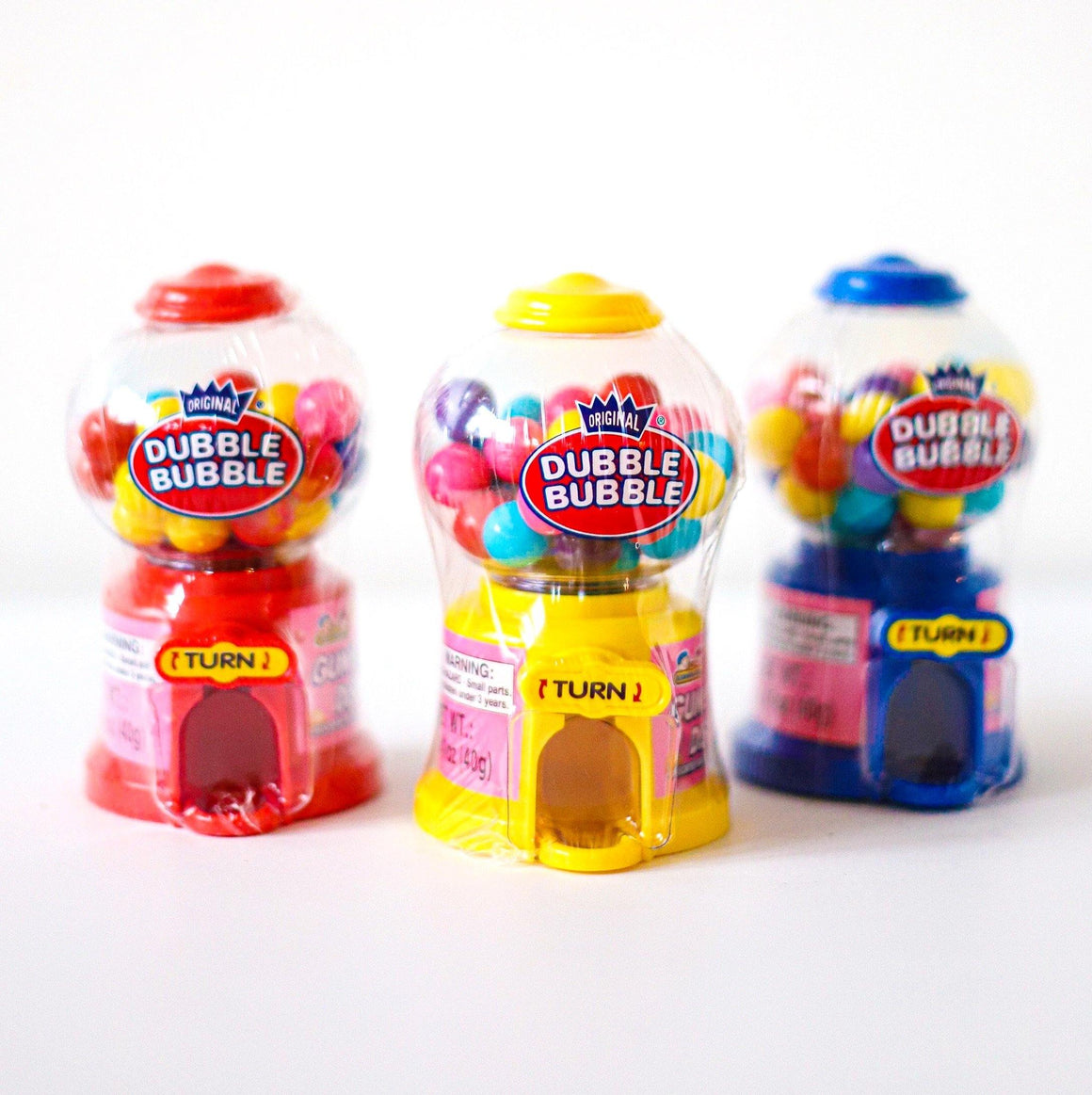 RETRO CANDY - MINI BUBBLE GUM MACHINE, Candy, MVR - Bon + Co. Party Studio