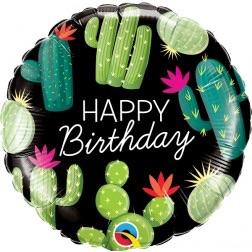 BALLOONS - CACTUS HAPPY BIRTHDAY, Balloons, BETALLIC - Bon + Co. Party Studio