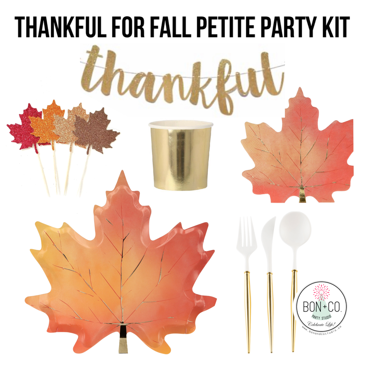 LUXE PETITE PARTY KIT - THANKFUL