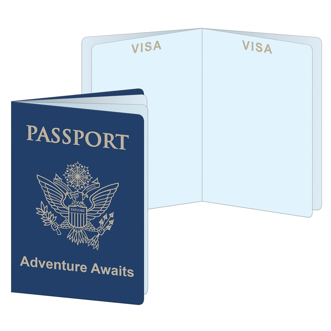 STATIONERY - AROUND THE WORLD PASSPORTS