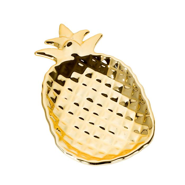 HOME - EMPORIUM PINEAPPLE CERAMIC DISH