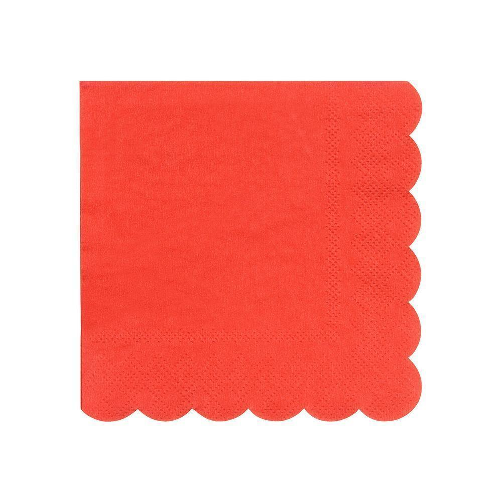 NAPKINS - COCKTAIL RED