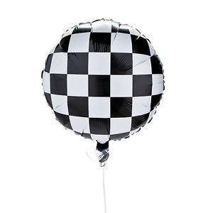 BALLOONS - RACING & SPORTS CHECKERED, Balloons, Anagram - Bon + Co. Party Studio