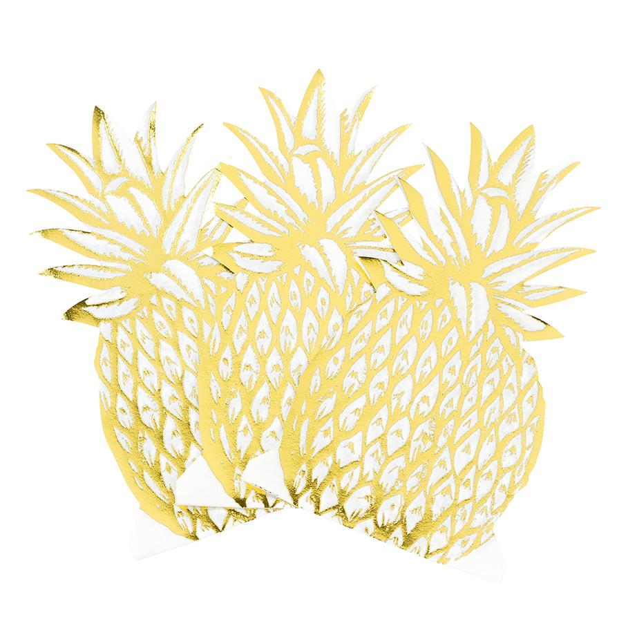 NAPKINS - LARGE PINEAPPLE