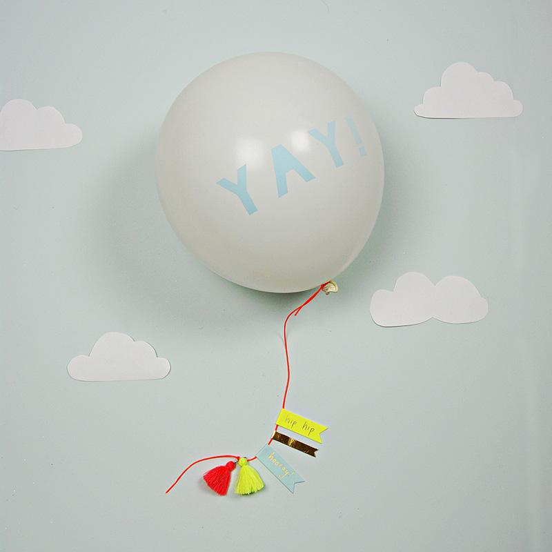 GREETING CARD - YAY BALLOON, GIFT GIVING, MERI MERI - Bon + Co. Party Studio