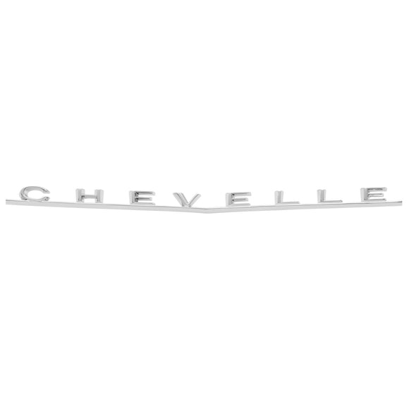 "1966 Chevelle Trunk Emblem, Malibu, ""Chevelle"", Sold as Each"
