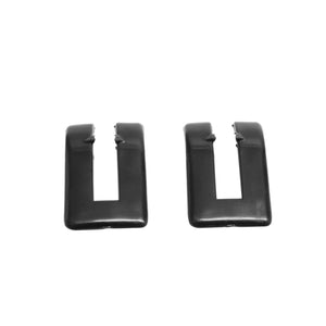 1964-1967 Chevelle Station Wagon Tailgate Hinge Escutcheon, Sold as a Pair