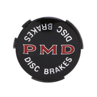 "Wheel Cover Emblem, 2 7/16"" Diameter, Black, Disc Brakes, Sold as Each"