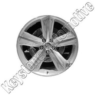 ALY02329U85 ALLOY WHEEL- 20 X 9- 25.5MM OFFSET- 5 SPOKES- 5 LUG- 4.5 INCH BP-