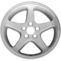 ALY03476U85 ALLOY WHEEL- 17 X 9- 7 SPOKES- 5 LUG- 4.5 INCH BP- AFTERMARKET