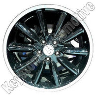 ALY03888U45 ALLOY WHEEL- 19 X 9- 10 SPOKE- 5 LUG- 4.5 INCH BP- FRONT- BLACK