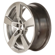 ALY05444U78 ALLOY WHEEL- 20 X 8- 5 FLAT SPOKES- 5 LUG- 120MM BP- FRONT- MEDIUM