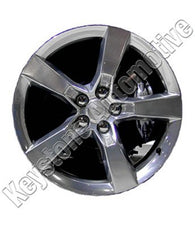 ALY05444U80N ALLOY WHEEL- 20 X 8- 5 FLAT SPOKES- 5 LUG- 120MM BP- FRONT- NEW