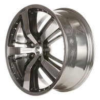 ALY05469U91 ALLOY WHEEL- 21 X 9.5- 15 SLOTS- 5 LUG- 4.75 INCH BP- REAR- POLISHED
