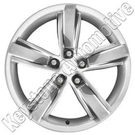 ALY05530U77 ALLOY WHEEL- 20 X 9- 5 SPOKES- 5 LUG- 120MM BP- REAR 45TH