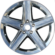 ALY09063U85 ALLOY WHEEL- 20 X 10- 50MM OFFSET- 5 SPOKES- 5 LUG- 5 INCH BP-