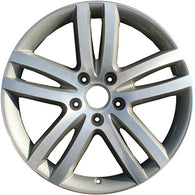 ALY58806U15 ALLOY WHEEL- 20 X 9- 5 DOUBLE SPOKES- 5 LUG- 130MM BP- MACHINED AND