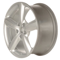 ALY58834U20 ALLOY WHEEL- 20 X 9- 5 SPOKES- 5 LUG- 130MM BP- ALL PAINTED SILVER
