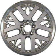 ALY59334U10 ALLOY WHEEL- 19 X 9- WEB SPOKES- 5 LUG- 120MM BP- FRONT- BRIGHT