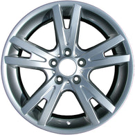 ALY59459U20 ALLOY WHEEL- 19 X 9- 51MM OFFSET- 5 DBL FLAT SPOKES- 5 LUG- 120MM
