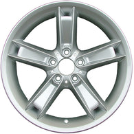 ALY59460U20 ALLOY WHEEL- 19 X 9- 51MM OFFSET- 5 DOUBLE SPOKES- 5 LUG- 120MM BP-