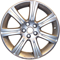 ALY59819U10 ALLOY WHEEL- 18 X 8.5- 49MM OFFSET- 7 GROOVED SPOKES- 5 LUG- 4.25