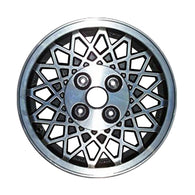 ALY62133U10 ALLOY WHEEL- 15 X 6- 32 DIAMOND SPOKES- 4 LUG- 4.5 INCH BP- GRAY