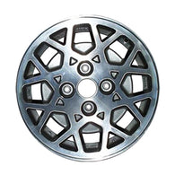 ALY62164U10 ALLOY WHEEL- 15 X 6- 16 SPOKES- 4 LUG- 4.5 INCH BP- SILVER