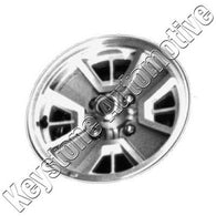 ALY62172U55 ALLOY WHEEL- 14 X 6- 4 SPOKES- 4 LUG- 4.5 INCH BP- GOLD TEXTURED