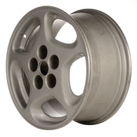 ALY62260L10 ALLOY WHEEL- 16 X 7.5- 5 SPOKES- 5 LUG- 4.5 INCH BP- SILVER
