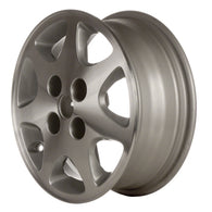 ALY62287U10 ALLOY WHEEL- 15 X 6- 7 SLOTS- 4 LUG- 4.5 INCH BP- MACHINED WITH