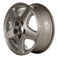 ALY62316U10 ALLOY WHEEL- 16 X 6.5- 5 SPOKES- 5 LUG- 4.5 INCH BP- SILVER