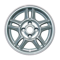 ALY62364U10 ALLOY WHEEL- 14 X 5.5- 5 DOUBLE SPOKES- 4 LUG- 100MM BP- SPARKLE