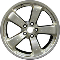ALY62461U78 ALLOY WHEEL- 19 X 10- 5 SPOKES WITH DIMPLE- 5 LUG- 4.5 INCH BP-