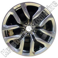 ALY62545U78 ALLOY WHEEL- 18 X 8- 10 SPOKES- 5 LUG- 4.5 INCH BP- FRONT-