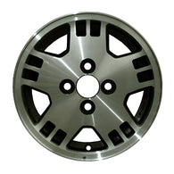 ALY63634U10 ALLOY WHEEL- 13 X 5- 5 SPOKES- 4 LUG- 100MM BP- DARK CHARCOAL