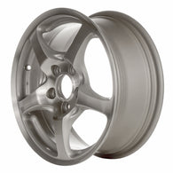 ALY63817U10 ALLOY WHEEL- 16 X 6.5- 5 SPOKES- 5 LUG- 4.5 INCH BP- FRONT- SPARKLE