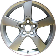 ALY64868U20 ALLOY WHEEL- 18 X 8- 50MM OFFSET- 5 SPOKES- 5 LUG- 4.5 INCH BP- ALL
