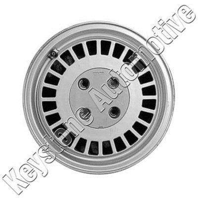 ALY68145U10 1982-1986 SAAB 900 ALLOY WHEEL- 15 X 5.5- 24 SLOTS- 4 LUG- 114MM BP- LITE SPARKLE SILVER