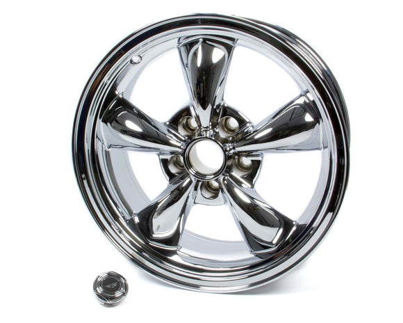 17x7 Torq Thrust M Wheel Chrome 5x4.75 BS